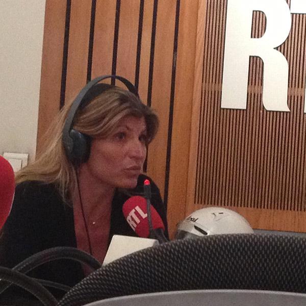 Karine Baillet en interview chez RTL