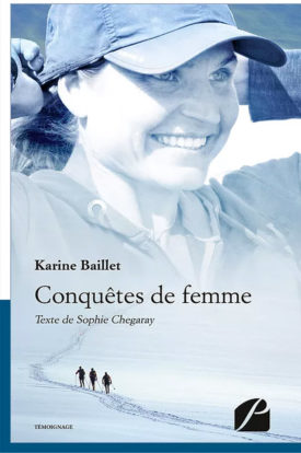 LIvre de Karine Baillet Conquête de femme