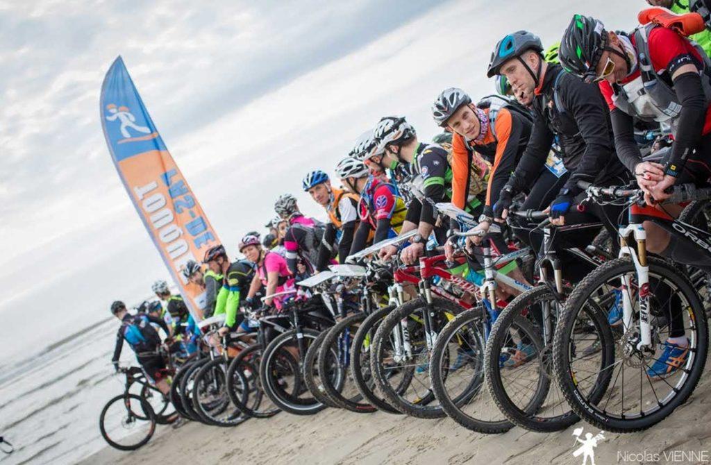 Karine Baillet Organisation lors du Bike&Run au Touquet