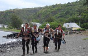 Karine Baillet sur le raid réunion d'aventures en féminine