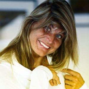 Portrait de Karine Baillet, athlète de haut niveau et conférencière