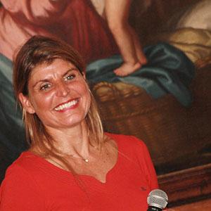 Karine Baillet Organisation lors d'une conférence à Lille