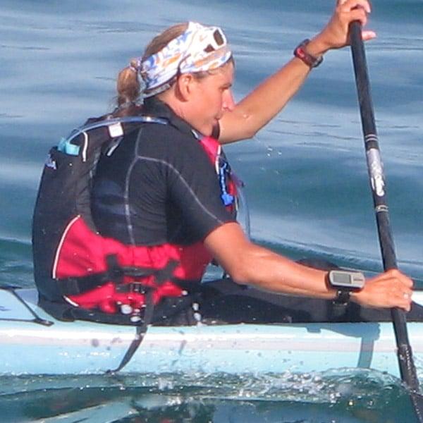 Karine Baillet, athlète de haut niveau et conférencière en rame