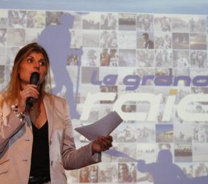 Karine Baillet Organisation en conférence