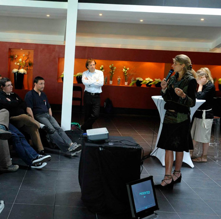 Karine Baillet Organisation lors d'une conférence et séminaire en entreprise