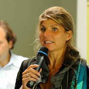 Karine Baillet Organisation lors d'une conférence sur la gestion de l'échec