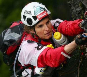 Karine Baillet Organisation lors d'une épreuve en raid
