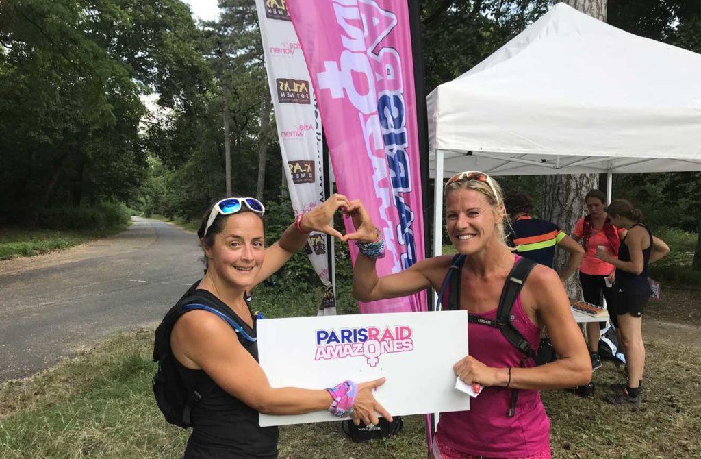 Les gagnantes du Paris Raid Amazones organisé par Karine Baillet Organisation
