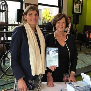Karine Baillet et Sophie Chegaray lors de la promotion du livre Conquêtes de femmes au Touquet