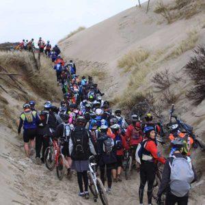 Touquet Raid Pas de Calais organisé par Karine Baillet Organisation, section VTT