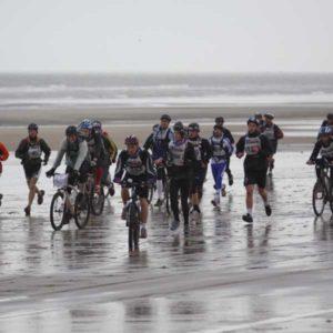 Touquet Raid Pas de Calais organisé par Karine Baillet Organisation, section bike&run