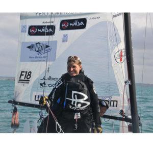 Traversée de la manche en catamaran de sport avec Yvan Bourgnon et Karine Baillet