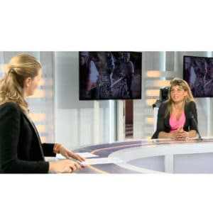 Karine Baillet invitée sur le plateau de France3
