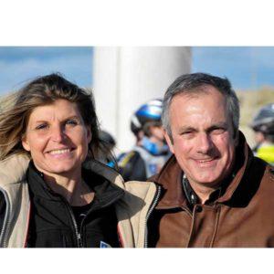 Karine Baillet et Dominique Chapatte sur le Touquet Raid Pas de Calais organisé par Karine Baillet Organisation