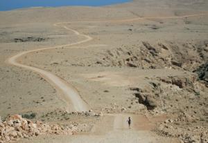 Course dans le désert d'oman Karine Baillet