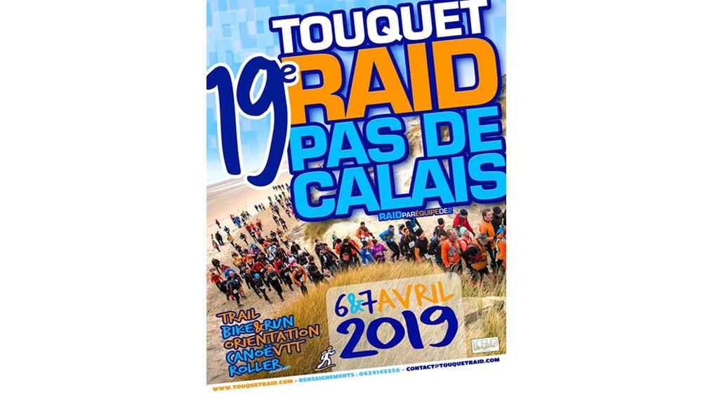 Affiche du Touquet Raid Pas de Calais organisé par Karine Baillet Organisation