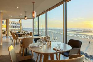 restaurant front de mer au touquet